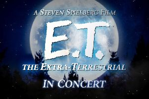 Czech orchestra plays in sync with movie E.T. at Edinburgh's Usher Hall