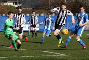 Penicuik Athletic 1-1 Dunbar (picture: Jim Dick)