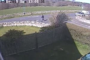 Ross, aged 30 from Dalkeith, was captured on CCTV walking south on Crichton Road (B6367) in Pathhead around 1pm on Sunday 31st March 2019.