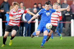 Bonnyrigg Rose in action (archive)