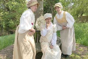 The Festival Players production of Much Ado About Nothing is on at Arniston House on Friday, 26th July 2019.