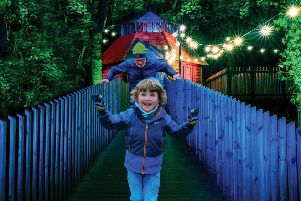 Dalkeith Country Park's Spectacle of Light is a new visual extravaganza of lights for all the family.
