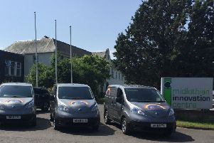 Healthy Tots' latest four additions to its electric vehicle fleet.