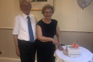 Ray and Jackie Horsfall recently celebrated their 60th Diamond Wedding Anniversary at Melville Castle.