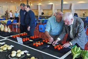 Dalkeith Horticultural Society show 2019.