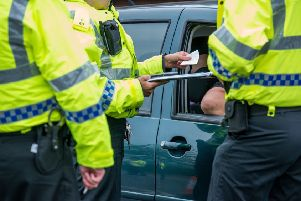 Road policing officers have been carrying out checks to ensure drivers have valid insurance.