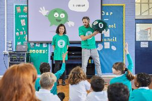 The NSPCC has delivered hundreds of workshops in Scottish schools.