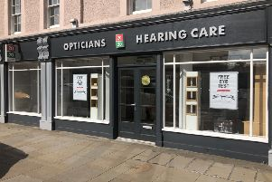 The Dalkeith relaunch event will be held at the 20 20 Opticians branch at 41 High Street from  9am to 5pm on September 27 and 28.