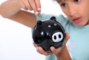 Many children pick up pocket money from both parents and grandparents.