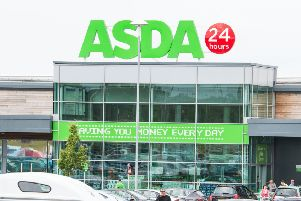 Officers were asked to attend at Asda in Loanhead in relation to a theft shoplifting. Photo by Ian Georgeson.