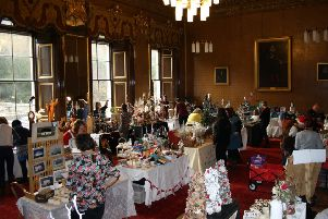 Last year's Christmas Fair at Newbattle Abbey College.