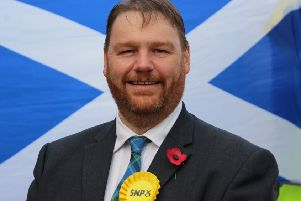 Owen Thompson, the SNP Midlothian candidate for the General Election.