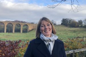 Rebecca Fraser, the Scottish Conservatives Midlothian candidate in the General Election.