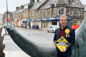 Liberal Democrats' Midlothian candidate for the General Election, Stephen Arrundale.