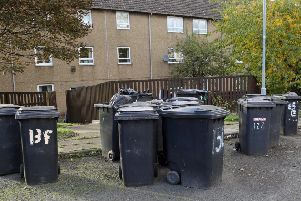 Stock photo of bins in Mayfield.