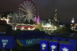 Mayfield-based NWH Group provides waste collection and recycling services for the Edinburgh Christmas Market.