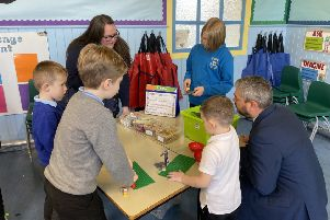 Newtongrange Primary School has officially launched its new Discovery Zone.