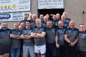 The Uncoachables will take part in the first ever walking rugby match against the Auld Enemy.