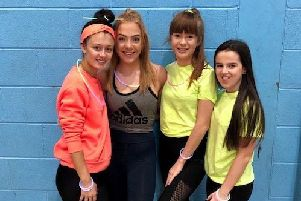 Fiona Dodds, Samantha Laing, Kira Urquhart Smith and Mia Tracey.