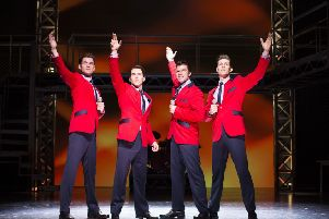Jersey Boys runs at Theatre Royal til January 3