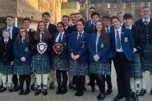 High School of Glasgow Combined Pipe Band and Fusion Group