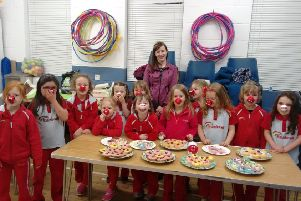 Westerton Rainbows support Red Nose Day