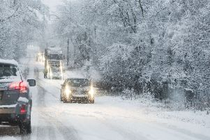 Glasgow and surrounding areas expected to be hit hard with snow overnight