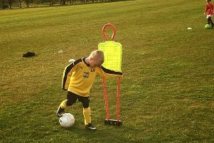 Box Soccer training has arrived in East Dunbartonshire