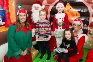 Festive fayre at Lenzie Meadow Primary collects £3,186