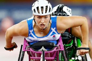 Paralympian Sammi Kinghorn VIP guest at Allander Rotary Club's charity sports dinner