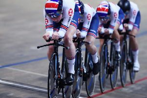 Katie Archibald and her team just lost out in the race for gold in Pruszkow (pic by Getty Images).
