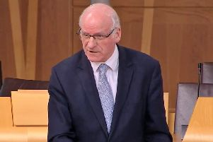 Gil Paterson MSP raised the issue of fire safety in Parliament.