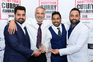 Top award for Bearsden curry bistro and takeaway