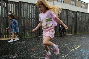 Property factor backs down on hopscotch ban at Bishopbriggs estate after outcry from parents
