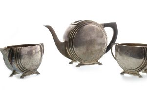 Kirky seller's silver tea service goes for four times original estimate at auction