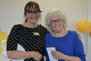 Honour for dedicated volunteer at hospice