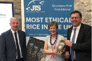 Gavin Mill's fair trade rice most ethical in UK