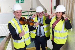 Lenzie owner wanted! Violin unearthed by builders at former primary school