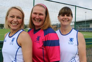 Left to right: Ellen Murray, Alison Hosie and Karen Longmuir. (Pic: Sally Hall)