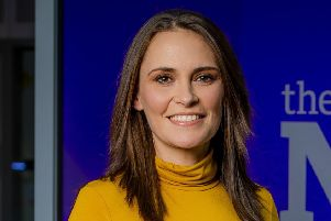 WARNING: Embargoed for publication until 00:00:01 on 12/02/2019 - Programme Name: The Nine - TX: n/a - Episode: n/a (No. n/a) - Picture Shows:  Laura Miller, Consumer Affairs Correspondent & Friday Presenter - (C) BBC Scotland - Photographer: Alan Peebles