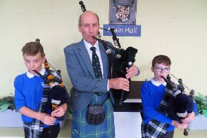 Reel-y special event for pupils at Bearsden and Milngavie schools