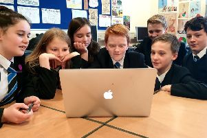 Budding young Bishopbriggs film makers in Gaelic bake-off spoof project