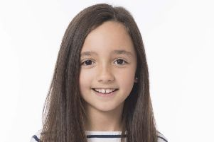 East Dunbartonshire's Ruby (8) stars in Celtic FC Christmas charity video