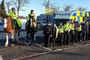 East Dunbartonshire police launch festive safety campaign