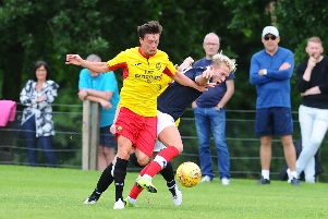 Joe Cardle was on target in Thistle's win at Dumfries.
