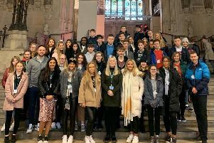 New MP Amy Callaghan is a class act for Kirkintilloch pupils on her first day at Westminster