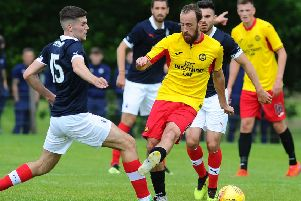 Stuart Bannigan's penalty earned Partick Thistle a point at Alloa (pic: Michael Gillen)