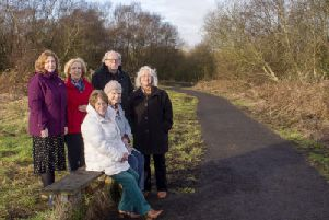 Upgrade to Bea's path at Lenzie Moss