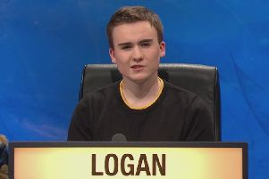 Mechanical engineering Alasdair Logan answered 16 questions correctly to help Strathclyde to victory. Picture: BBC