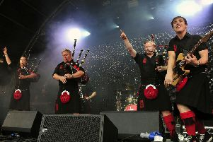 The Red Hot Chilli Pipers will headline Broadwood: Live by the Loch